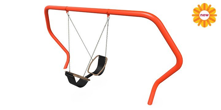 Friendship® Swing with Hedra® Swing Frame