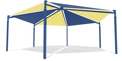 SkyWays® Hexagon, Single Layer 35' Diameter