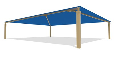 SkyWays® Hip (40'x50') Shade