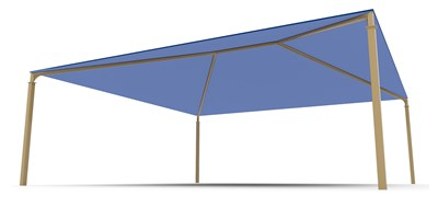 SkyWays® Hip (30'x30') Shade