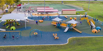 North Mankato Fallenstein Playground and Miracle League