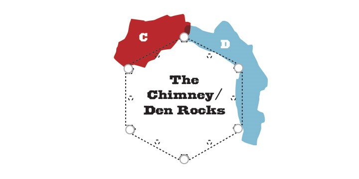 The Chimney/Den Rocks