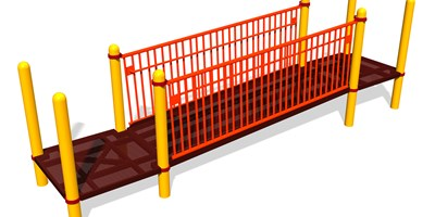 Ramp w/Barriers