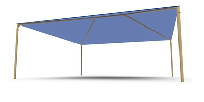 SkyWays® Hip (24'x24') Shade