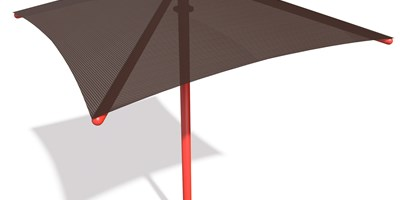 SkyWays® Single Post Pyramid (10'x10') Shade