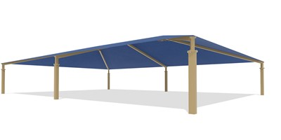 SkyWays® Hip (50'x70') Shade