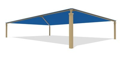 SkyWays® Hip (40'x60') Shade
