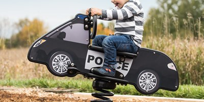 DigiRider® Police Car