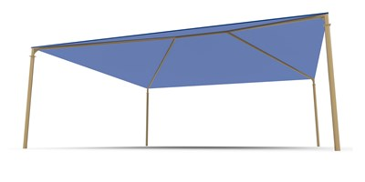 SkyWays® Hip (28'x28') Shade