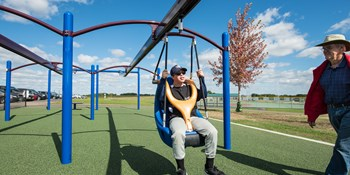 Playground Zip Lines Freestanding Track Rides Amp Zipkrooz