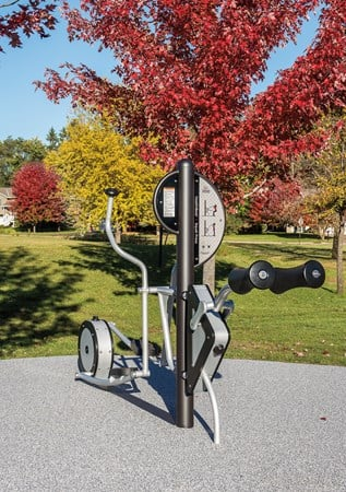 Healthbeat 174 Elliptical Outdoor Cross Trainer Exercise