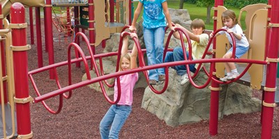 Ring Tangle® Climber w/Handhold Panels