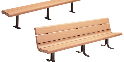 Recycled Contour Series Bench