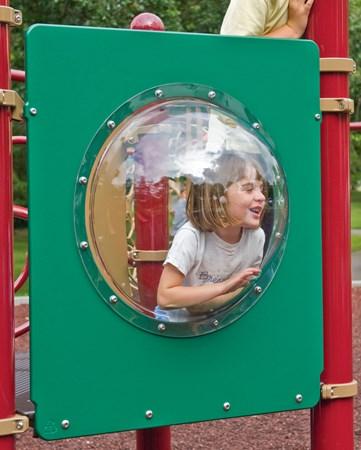 Bubble Panel Durable Polycarbonate Bubble Window 23