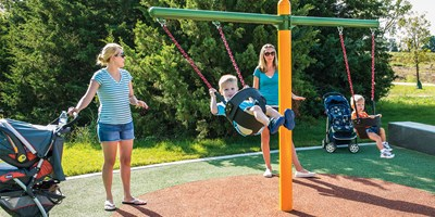 Toddler Swing Frame