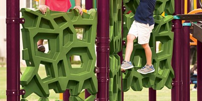 GeoPlex® Ground-To-Deck Triple Climber