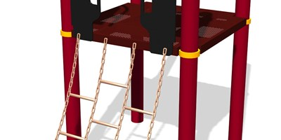Chain Ladder w/SteelX® Handholds