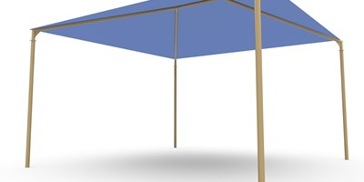 SkyWays® Hip (18'x18') Shade