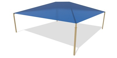 SkyWays® Hip (35'x35') Shade