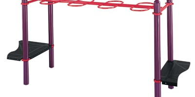 "Single Beam Loop Horizontal Ladder (123"")"