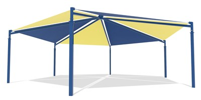 SkyWays® Hexagon, Single Layer 40' Diameter