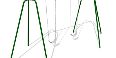 5000 Series Swing Frame 10' Height Anti-Wrap Hangers