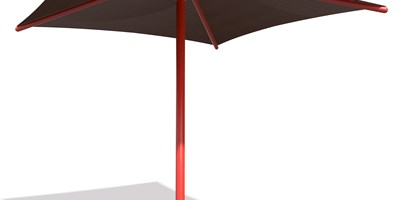 SkyWays® Single Post Pyramid (12'x12') Shade