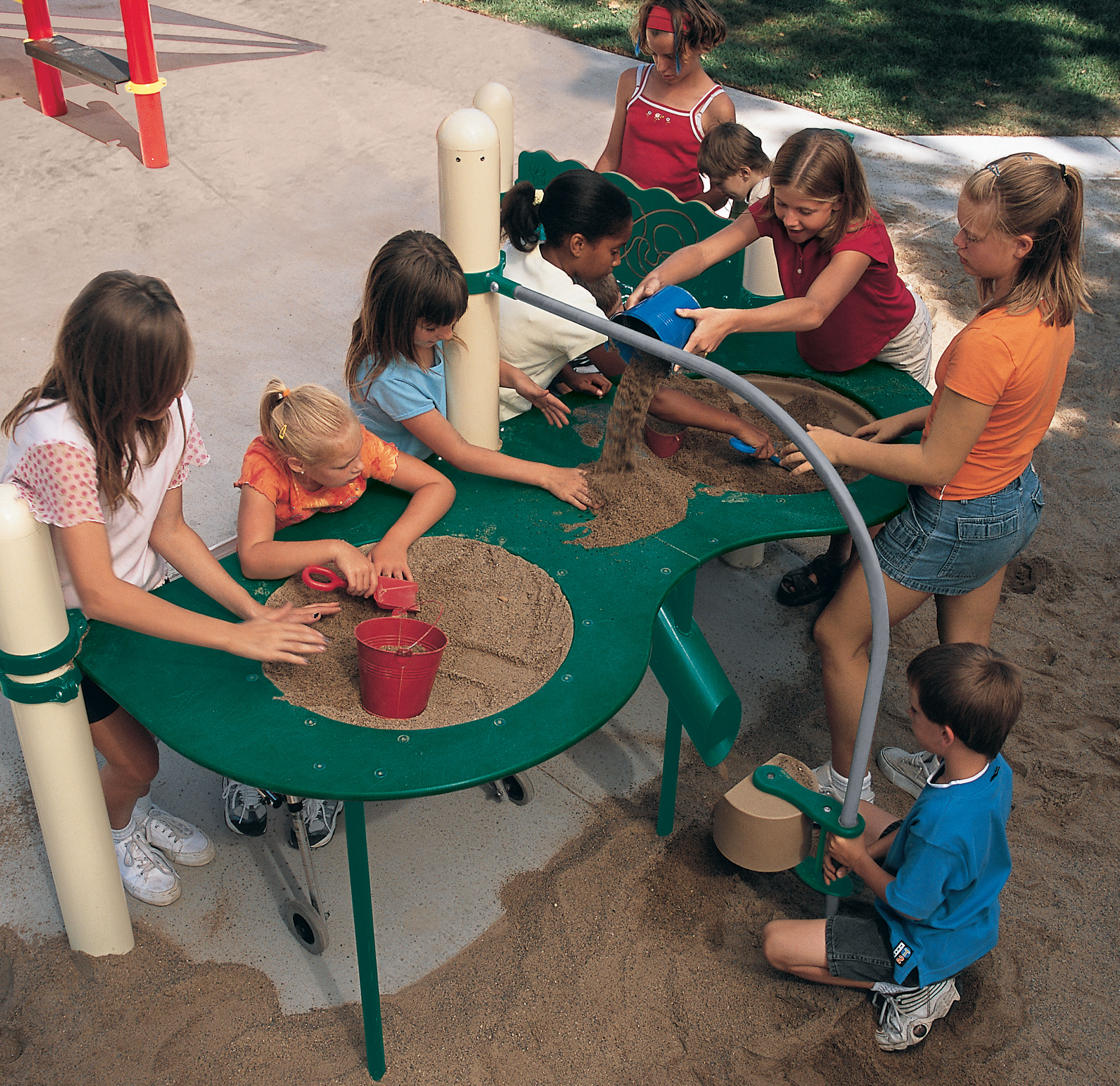 Elevated Sand Table Large Raised Fully Accessible
