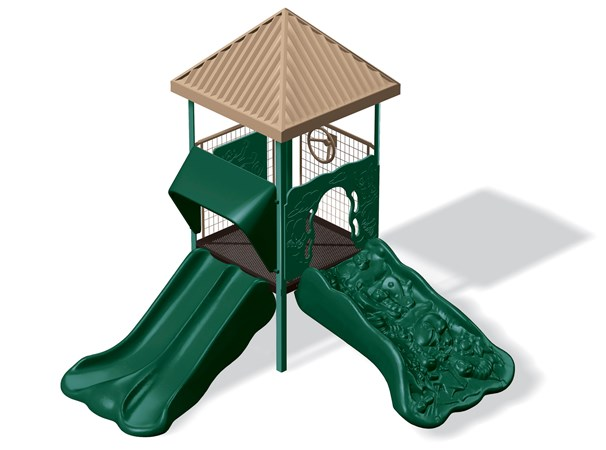 Playsense Design 42 Compact Affordable Playground Panel Climber Slide Landscape Structures