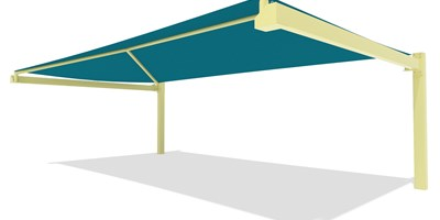 SkyWays® Cantilever 20'x36' Shade