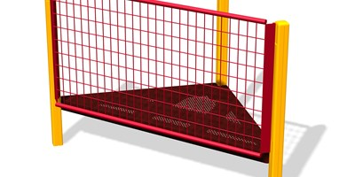 Wire Barrier 90° Tri-Deck