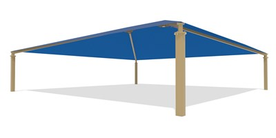 SkyWays® Hip (50'x50') Shade