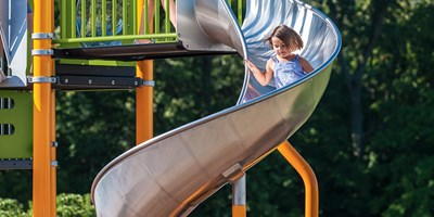 Stainless Steel Spiral Slide