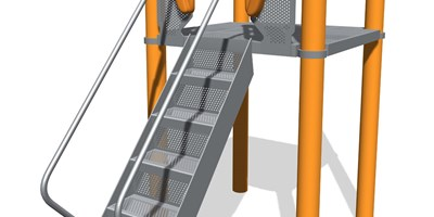 Step Ladder w/Vibe® Handholds