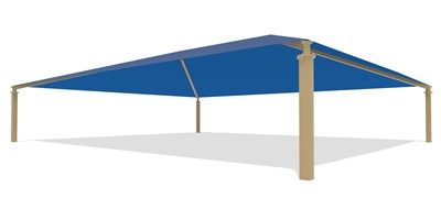 SkyWays® Hip (50'x60') Shade