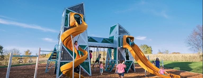 Bringing Height to the Playground with the Alpha® Tower & Alpha Link® Towers