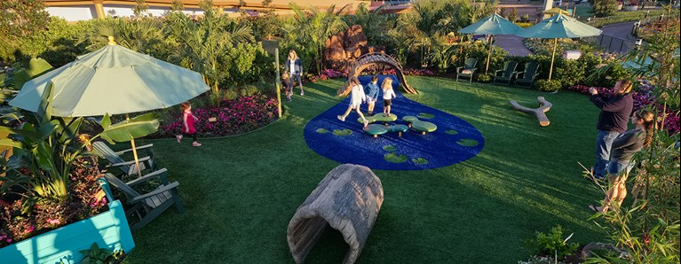 Landscape Structures Delivers Nature Play Environment at EPCOT® International Flower & Garden Festival