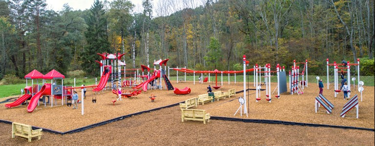 "KaBOOM! Selects Landscape Structures as its ""Partner in Play"""