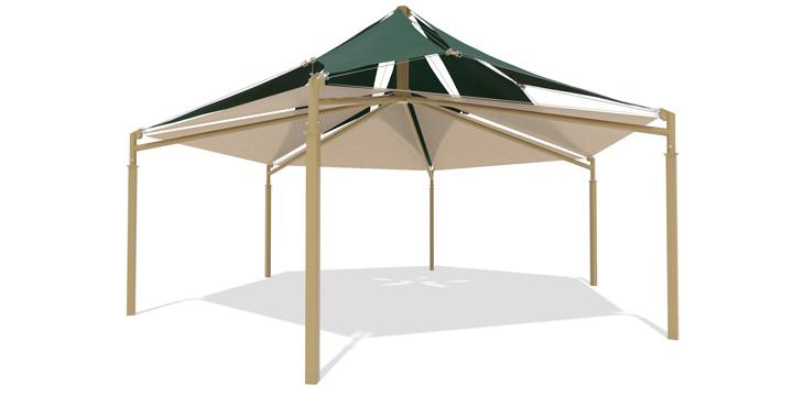 SkyWays Hexagon Double Layer  sc 1 st  Landscape Structures & Playground Shade Structures - Landscape Structures