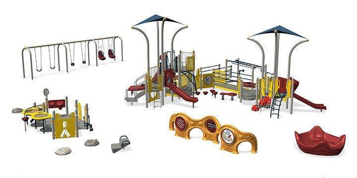 Playgrounds & Designs... Find inspiration for your next project by browsing playground designs.