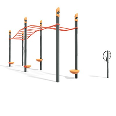 FitCore™ Extreme Angled Overhead Ladder (13+))