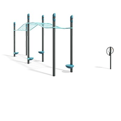 FitCore™ Extreme Overhead Ladder (5-12)