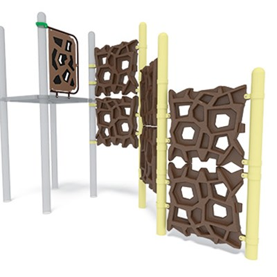 View GeoPlex Ground-to-Deck Triple Climber)