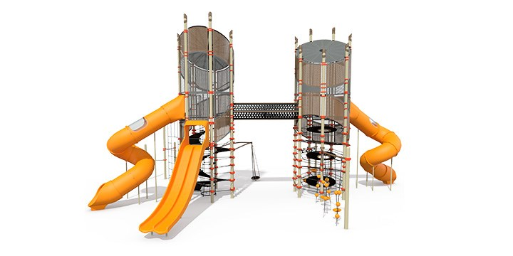 Super Netplex® - 12' to 12' Double Towers