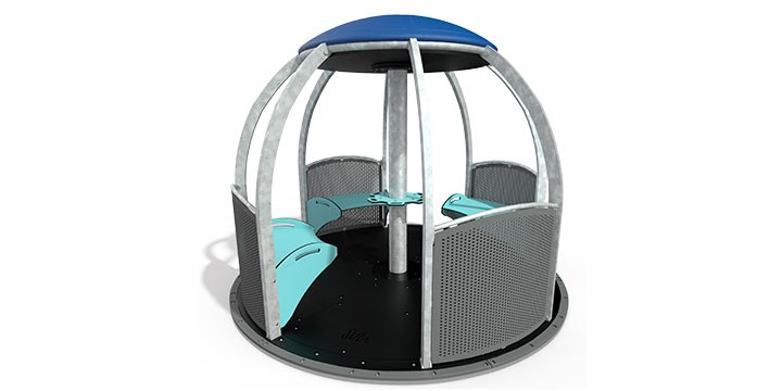 We-Go-Round™ HDG with Perforated Panels
