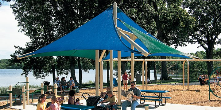 More Playground Shade Structures