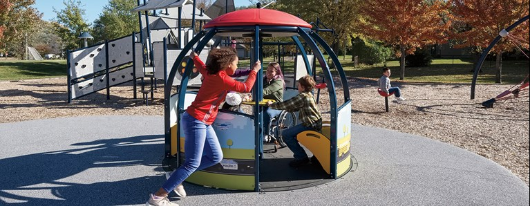 We-Go-Round® Expands Inclusive Playground Offerings