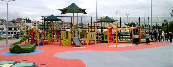 Grand Opening of First Inclusive Playground in Ecuador