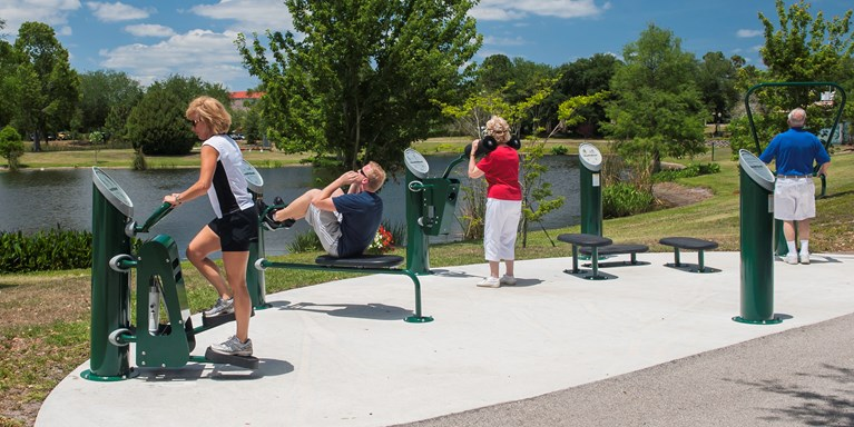 HealthBeat® Outdoor Fitness System launched