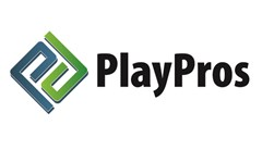 Countryside Play Structures logo made of a blue and green P interlock together to make a square with text to the right reading: PlayPros.
